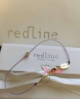 Redline 鑽石手鏈紅手繩代購