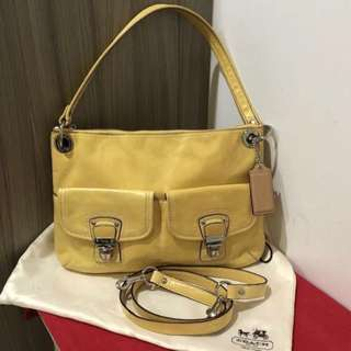💯 [Coach] Leather Handbag / Sling Bag