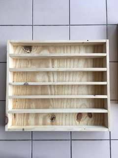 Preloved Wooden Rack for Stamps and Washi