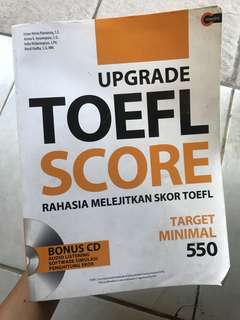 Upgrade Toefl Score