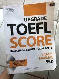 Upgrade Toefl Score