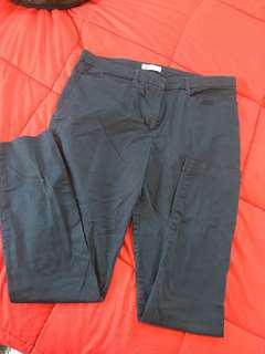 Size 12 Nave Blue Dress Pants - Postage Included