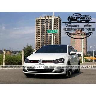 【FB搜尋桃園阿承】福斯 超人氣GTI 2016年 2.0 白色 二手車 中古車