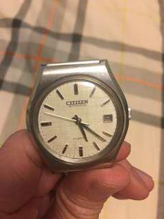 Vintage Citizen 星辰自動錶(可小議)