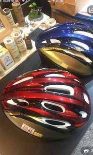 🚚 自行車安全帽(紅色9.5成新)