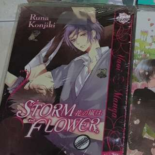 [English Manga] Storm Flower ~ 紺色ルナ[KONJIKI Runa] + Double Cast  ~ 麻々原絵里依 MAMAHARA Ellie [BL/Yaoi]
