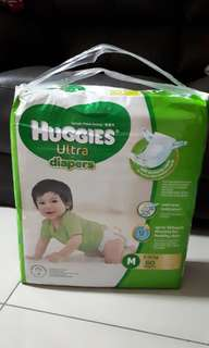 Huggies Ultra M size - brand new