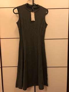 Uniqlo Dark Gray Dress