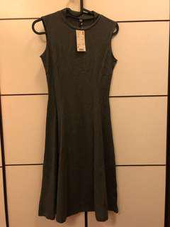 Uniqlo Dark Gray Dress
