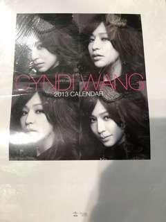 王心凌 Cyndi Wang 2013 Calendar