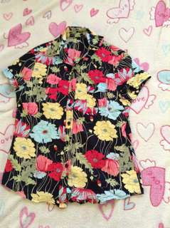 Pre-Loved Polo Floral Almost New Medium