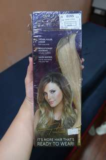Brand New and Sealed! Imported Hair Extensions - Light Golden Blonde