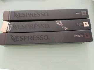 Nespresso Capsules (每條同價, 單買$30/條, 包條10pcs of capsules)