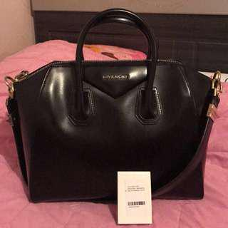 Givenchy Medium Antigona Authentic Black Bag