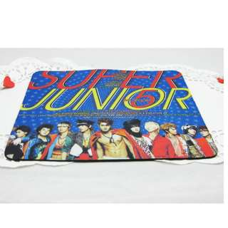 super junior 5 mr simple mouse pad 滑鼠墊