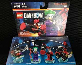 Lego Dimensions Joker and Harley