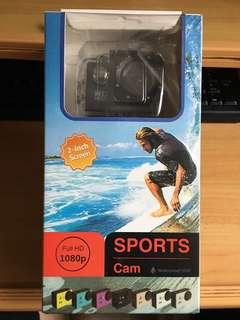 防水運動攝影機高畫質