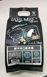 🚚 肉塊飼料1.5kg