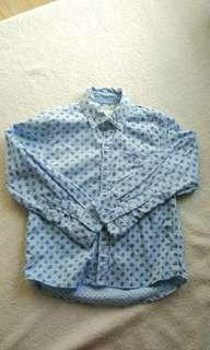 Gingersnaps blue cotton polo