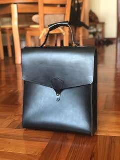 Handmade leather Tote Bag 手造皮袋 公事包