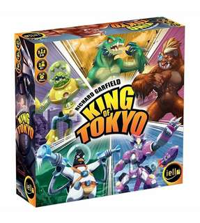 🆕 King of Tokyo (2016 Edition) Board Game