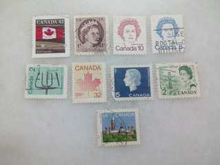 Canada Stamps 9V Used #4