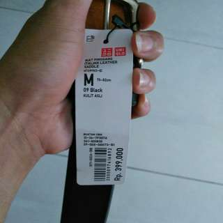 uniqlo belt.... jual rugi