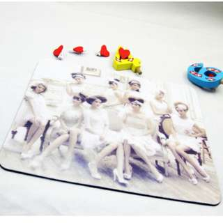 Girls Generation 少女時代 mouse pad 滑鼠墊