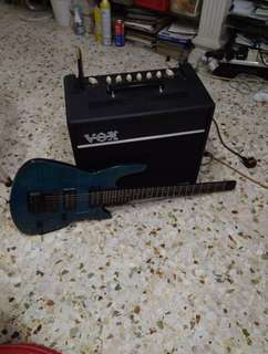 Guitar amp  amplifier Vox  80 to 120 watts