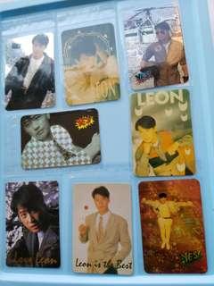 54張 黎明 Leon 特別yes卡 閃卡 90年代 歌手 yes card