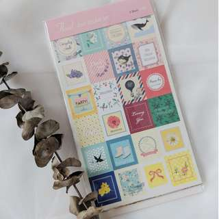 Stickers - Korean Sweet Stamps