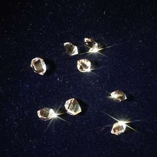 約10mm 閃靈鑽 AAA Garde  正宗 Herkimer Diamond 紐約礦場直送