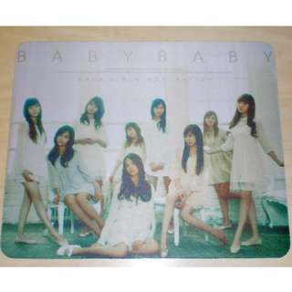 Girls Generation 少女時代 baby baby mouse pad 滑鼠墊