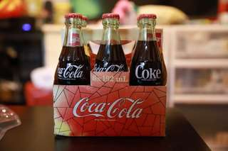 coca cola 一套6支 連紙盒