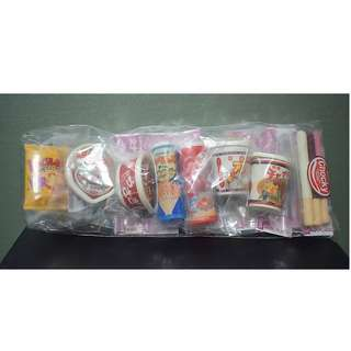Iwako Erasers from Japan 9 pieces Snack Theme Set