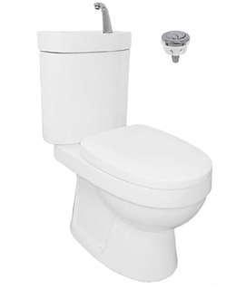 Toilet bowl complete set