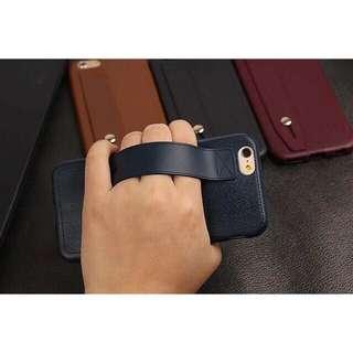 🌼C-1102 Leather Textured Soft TPU Apple Case🌼