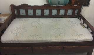 Mahogany Daybed with Mattress