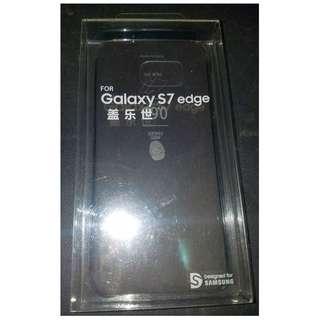 三星S7 edge 保護殼套+Mon貼 x 2片 Samsung Case+Screen x 2pcs