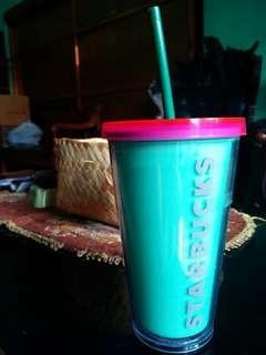 Starbucks tumbler grande size