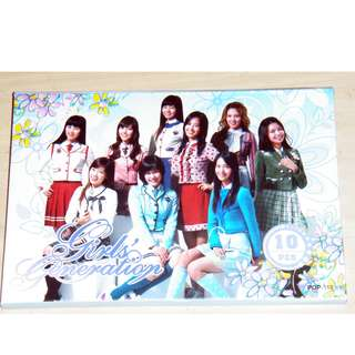Girls Generation 少女時代 postcard 明信片