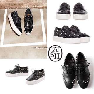 🚚 ASH時尚品牌尖頭蛇紋厚底增高包鞋