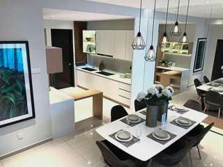 New 2 Storey Terrace , 0 Downpayment, Near the Aroplan