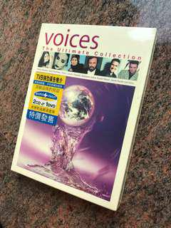 VOICES The Ultimate Collection CD & DVD