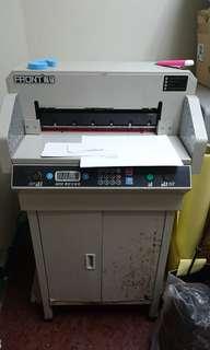 4605k電動數控切紙機