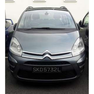 Citroen Grand C4 Picasso 1.6A for long term rental.