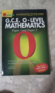 O level Maths Paper 1 and 2