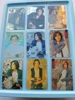 44張 鄭伊健 Ekin yes卡 閃卡 90年代 歌手 yes card