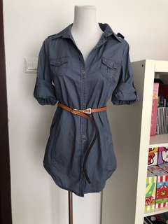 Mango Shirt Dress