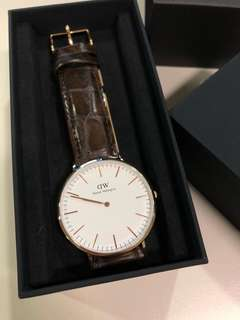 Daniel Wellington watch 手錶 (99%新)
